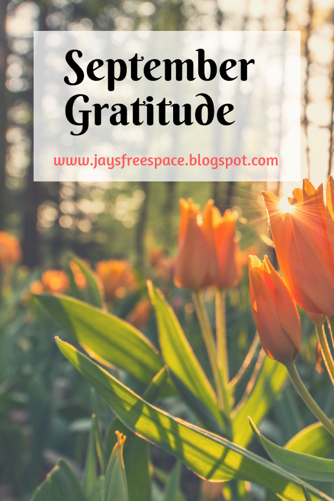 September Gratitude #GratitudeCircleBloghop